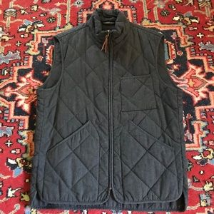 J. Crew Sussex quilted vest